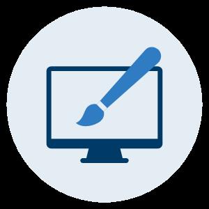 icon web design - Home 2